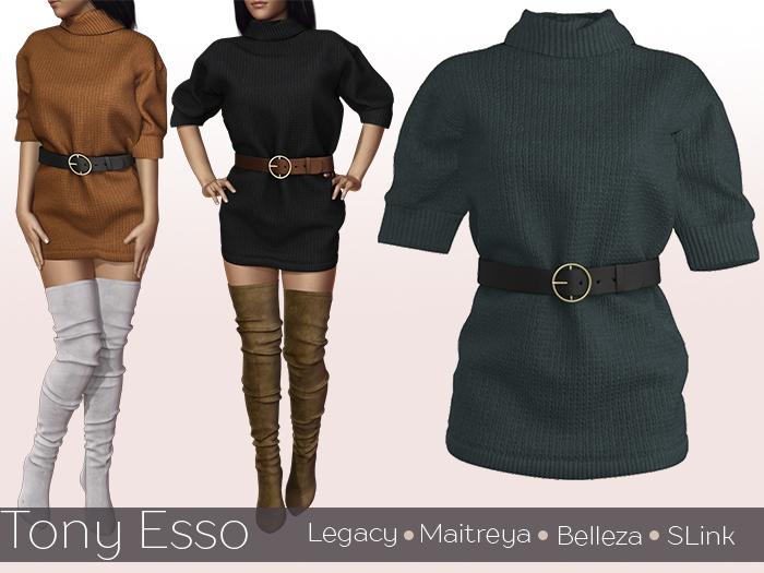 Tony Esso - Beatrice Sweater (Green)