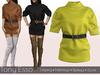 Tony Esso - Beatrice Sweater (Yellow)