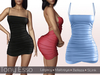 Tony Esso - Sweeter Than Candy Dress (Blue)