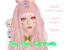 !RT:.:Tiny Doll Eyebrows