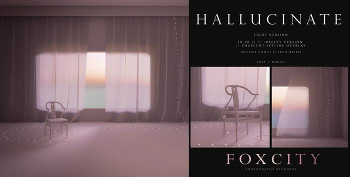 FOXCITY. Photo Booth - Hallucinate (Light)