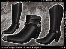 fR-men boots agreste black