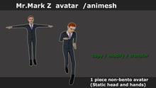 mr.mark z avatar/ animesh