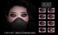 Lunchbox F Off Eyes Singles Black