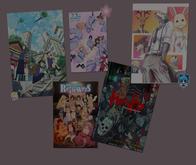 anime posters SET 4