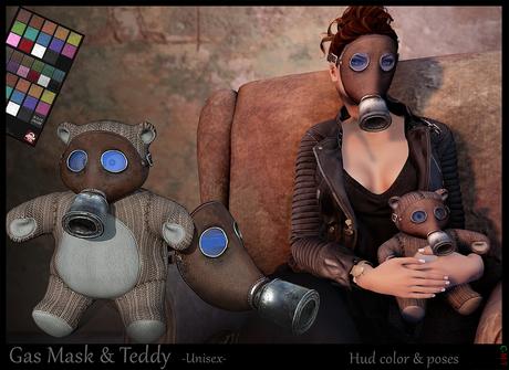 *-* Gas Mask & Teddy