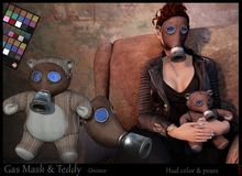 *-* Gas Mask & Teddy