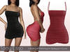 Tony Esso - Sweeter Than Candy Dress (DarkRed)