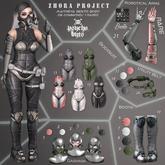 {PSYCHO:Byts}. Zhora Project Full Set Rare (maitreya)