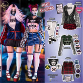 """Luas Ichi FULL SET Outfit RARE + COMMON """"all items """""""