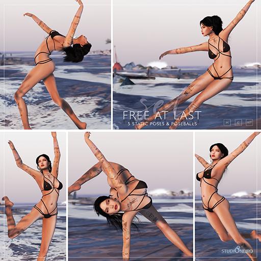 :studiOneiro: Free at last set /poses/