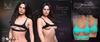 [[ Masoom ]] Tessa Top- Aqua - Legacy Perky, Legacy, Lara & Hourglass