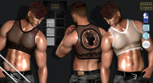 MCM - TOP Sexy man (TMP, SLINK, SIGNATURE Gianni - Geralt)