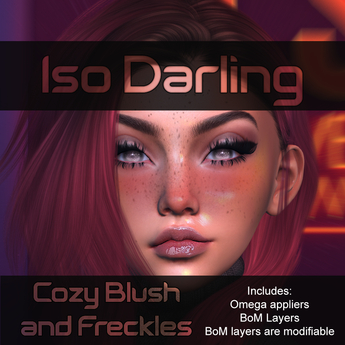 Iso Darling - Cozy Blush & Freckles