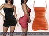 Tony Esso - Sweeter Than Candy Dress (Orange)