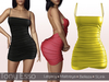 Tony Esso - Sweeter Than Candy Dress (Yellow)
