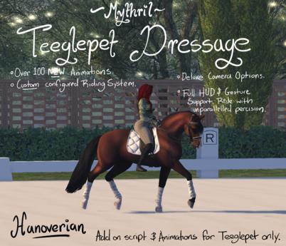 ~Mythril~ Teeglepet Dressage: Hanoverian