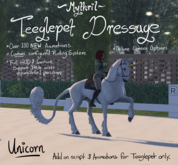 ~Mythril~ Teeglepet Dressage: Unicorn