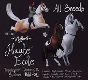 ~Mythril~ Teeglepet Dressage: Haute Ecole Addon