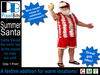 Fun Summer Santa! ONLY 1 Prim!