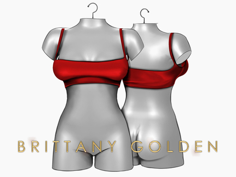 Brittany - Hina Top - Red