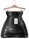 Stories&Co. Signature Waist Skirt - Maitreya Lara, Belleza Freya, Slink Physique & Hourglass - Black Latex / WCF