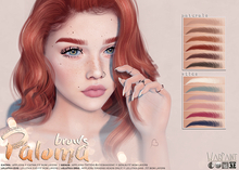 WarPaint* Paloma brows - Catwa fit [naturals] - Appliers + BoM