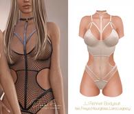 DarkFire J.J. Fishnet Bodysuit-#09