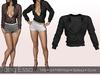Tony Esso -  Felicia Shirt  (Black)