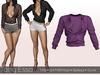 Tony Esso -  Felicia Shirt  (Grape)