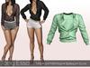 Tony Esso -  Felicia Shirt  (Green)