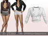 Tony Esso -  Felicia Shirt  (White)