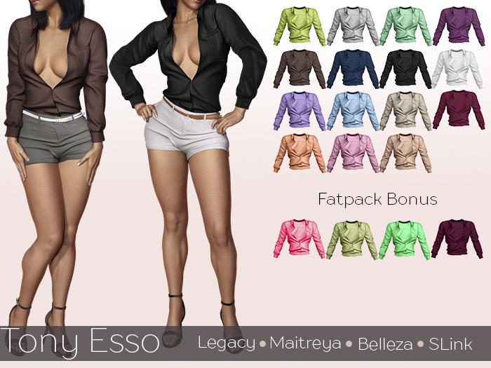 Tony Esso -  Felicia Shirt  - Fatpack