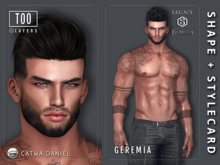 [TOO] Layers - Geremia Shape for Daniel - Jake - Gianni - Legacy