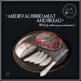 Medieval Food Meat & Bread - Sweet Lies Original