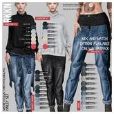 RKKN. Hailey Jeans PaleBlue/Maitreya