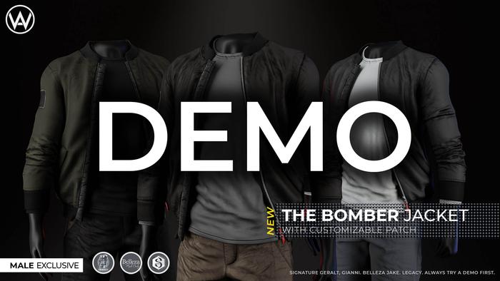 [WAZ] Bomber Jacket (DEMO) BOXED [Add/Rezz]
