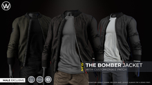 [WAZ] Bomber Jacket (Black)
