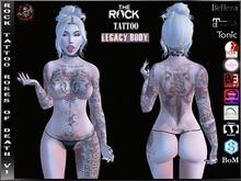 Rock Tattoo Ladies - Roses Of Death ( Full Body )