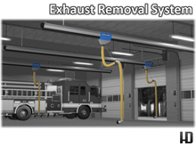 HD Exhaust Removal System