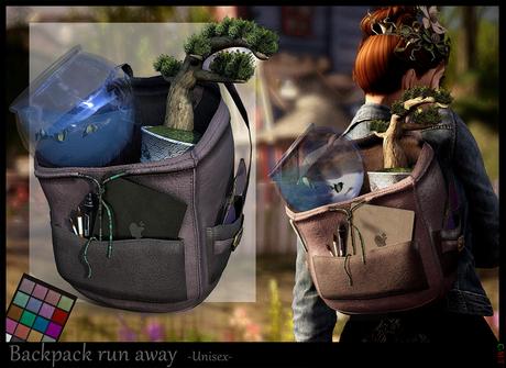 *.* backpack run away   - wear to unpack