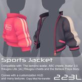 <UTILIZATOR> - Sports jacket (Kemono, Avatar 2.0, Rikugou, Belleza)