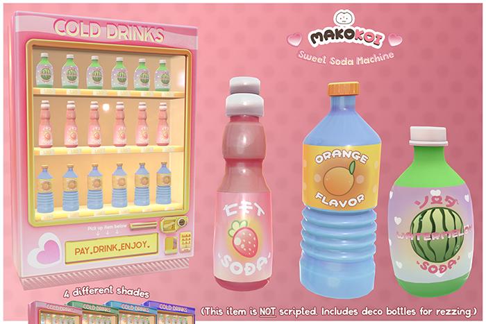 MAKOKOI . Sweet Soda Machine