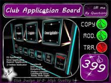 ** New Big Application Board Club ** Effect Holo Light Anim. *
