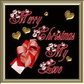 POOFER MERRY CHRISTMAS MY LOVE (29) Boite