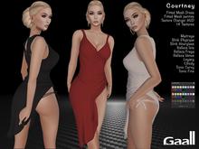 PROMO - Gaall Courtney Outfit - Maitreya, Slink (P, H), Belleza (V, I, F), Tonic (C, F), eBody (C), Legacy. 14 Tex.