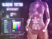 Glowing Tattoo - Witchcraft (Maitreya,Maitreya Petite)