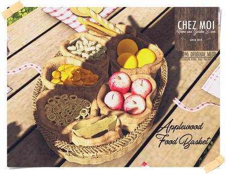 Applewood Food Basket ♥ CHEZ MOI