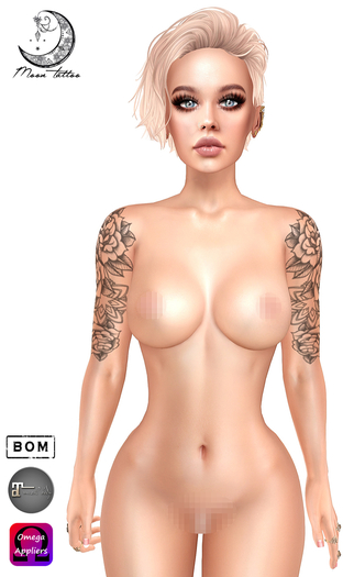 *Moon Tattoo* Allison