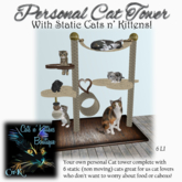 CnK: Personal Cat Tower 2020